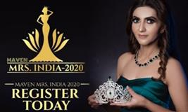 Maven Mrs India 2020 - Registration Open