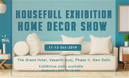 Housefull Exhibition - Home Decor Show at Delhi - BookMyStall