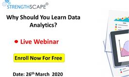 [Webinar] Why Should You Learn Data Analytics