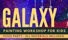 Galaxy Painting workshop for Kids!