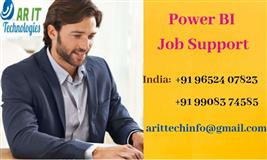 Power BI Job Support | Power BI Online Job Support - AR IT