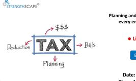 [Webinar] Planning and Filing Income Tax – What every employee must know