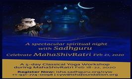 Classical Yoga Workshop during Mahashivratri
