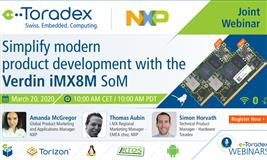 Simplify Modern Product Development with the Verdin iMX8M System on Module