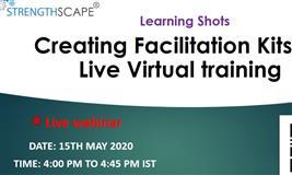Learning Shots: Creating Facilitation Kits for Live Virtual training