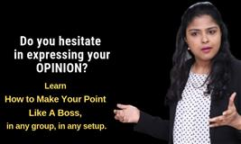 Learn to Make your point Like A Boss!