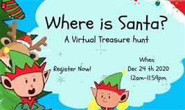 Where is Santa?A Virtual Treasure Hunt