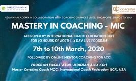 Mastery in Coaching Certification Program (MIC)