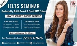 Free IELTS Seminar in Surat