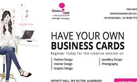 "We will be organizing a session for ""How to have your own business cards"""