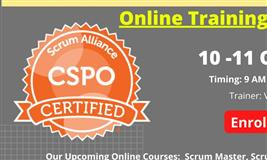 CSPO- Certified Scrum Product Owner Online Training