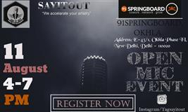 Say It Out Open Mic Event S1 Registration Way