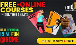 imd1 presents Free Online Courses – Dance, Photography, Art