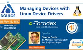 Webinar: Managing Devices with Linux Device Drivers
