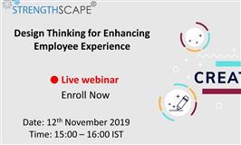 [Free Webinar] Design Thinking for Enhancing Employee Experience