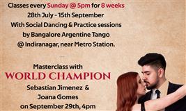 Tango Beginners' Batch+ Masterclass!