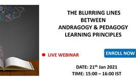 [Free Webinar] The Blurring Lines between Andragogy & Pedagogy Learning Principles