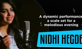 V4 Music LIVE by Viviana Mall with Nidhi Hegde