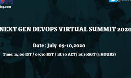 NEXT GEN DEVOPS VIRTUAL SUMMIT 2020