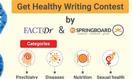 Get Healthy Writing Contest by FactDr and 91springboard