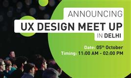 UX Design Meetup in Delhi