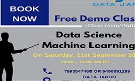 Free Demo classes on Data Science