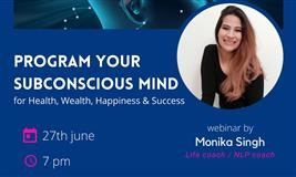 Program Subconscious mind For health, wealth, happiness and success