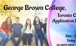 George Brown College, Toronto Canada Application Day