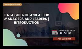 Introduction to Data Science and AI for Managers and Leaders   Learnbay