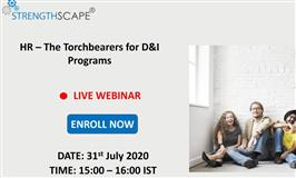 [Webinar] HR – The Torchbearers for D&I Programs