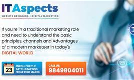 Free Digital Marketing Demo By IT Aspects - SEO, Ad Words, Analytics etc...