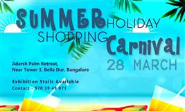 Summer Holiday Shopping Carnival at Bangalore - BookMyStall