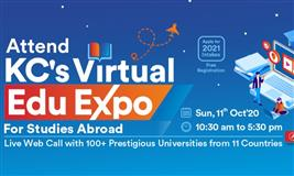 Attend KC's Virtual Edu Expo and apply for 2021 Intakes for Study Abroad