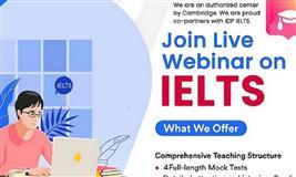 IELTS Free Webinar | Register Now