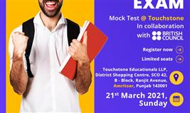 Touchstone announces mock test for IELTS. Register now to understand the exam pattern