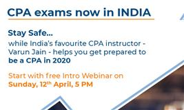 Great News: US CPA exams now in India | Miles Education