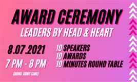 Leaders by Head and Heart Award Ceremony 2021