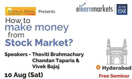 """A FREE Seminar on """" How to Make Money from Stock Market? """""""
