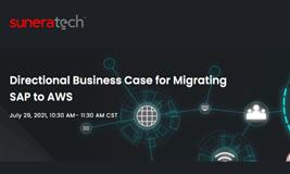 Directional Business Case for Migrating SAP to AWS
