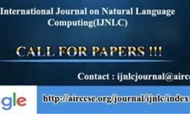 International Journal on Natural Language Computing (IJNLC)