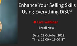 [Webinar] Enhance Your Selling Skills using Everything DiSC