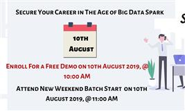 Enroll Now For Our Spark and Scala Demo in Hyderabad