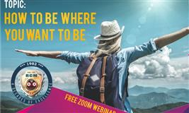 HOW TO BE WHERE YOU WANT TO BE