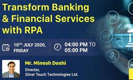 Transform Banking and Financial Services with RPA