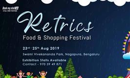 Retrics Food & Shopping Festival at Bangalore - BookMyStall
