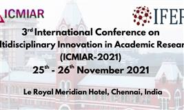 3rd International Conference on Multidisciplinary Innovation in Academic Research (ICMIAR-2021)