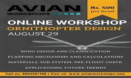 Online Workshop on Ornithopter Design