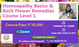 Homeopathy Basics & Bach Flower Remedies Course Level 1