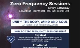 Zero Frequency Session to Align Body, Mind and Soul
