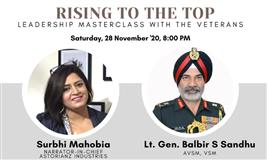 Rising to the Top: Leadership Masterclass with Veterans